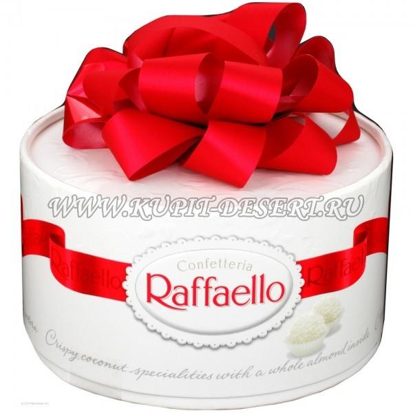 Конфеты Раффаэлло в упаковке Большой торт FERRERO 600 г