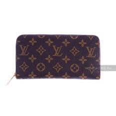 Женский кошелек Louis Vuitton (цвет: коричневый)