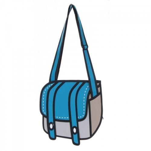 Синяя сумка Cheese