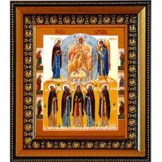 Икона Молитва задержания на холсте.