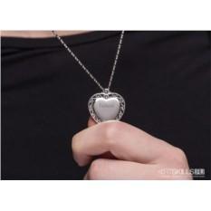 Кулон с гравировкой Трепетное сердце