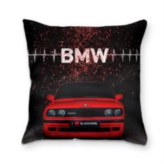 Подушка с 3D принтом BMW