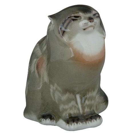 Анималистическая скульптура «Дикий кот»