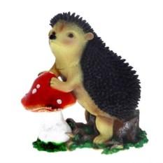 Декоративное изделие Ёж на грибе