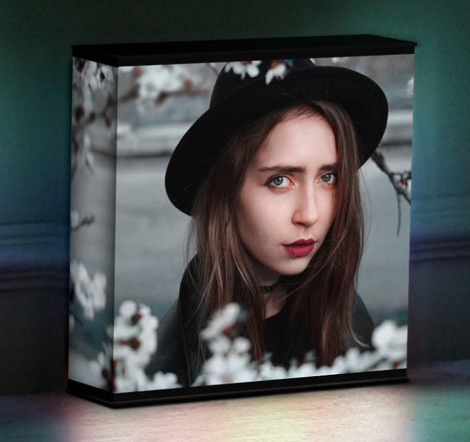 3D-лайтбокс с вашими фотографиями