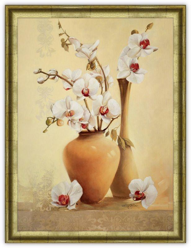 Постер Вазы с орхидеями (Жерард Бовуар)