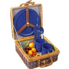 Набор для пикника Компакт на 4 персоны с посудой