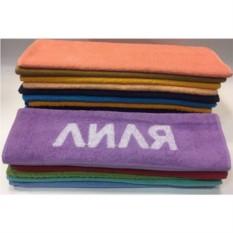 Полотенце с вышивкой Лиля