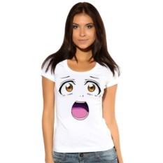 Женская футболка Удивленное лицо