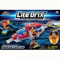Конструктор Lite Brix Служба спасения. Вертолет