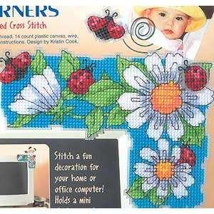 Уголок на компьютер «Цветы»