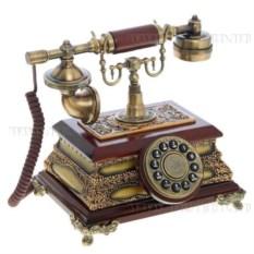 Декоративное изделие Телефон (основание в форме шкатулки)