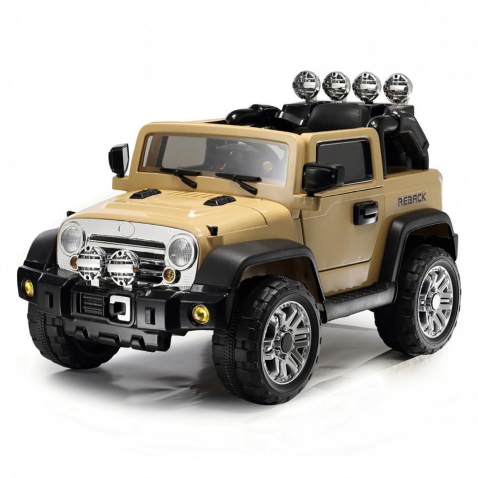 Радиоуправляемый электромобиль JJ235A-K Beach Jeep Khaki