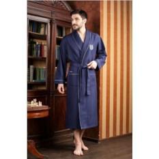 Синий мужской халат Monte Carlo