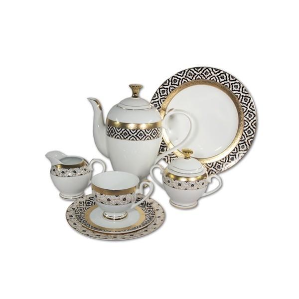 Чайный сервиз Самарканд из 42 предметов на 12 персон