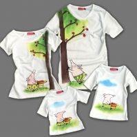 Семейные футболки Хочу шарлотку, для родителей и дочки