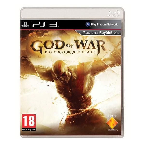 Игра God of War 3: Восхождение (PS3)