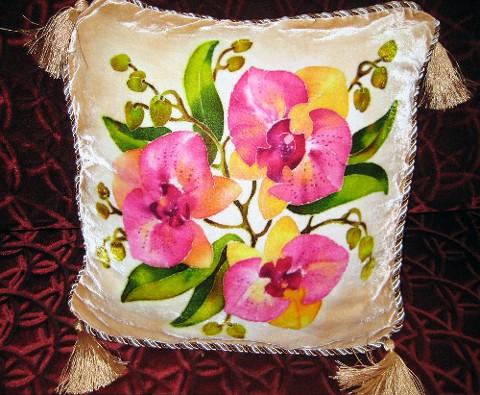 Подушка Орхидеи