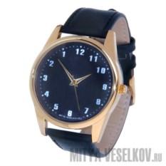 Часы Mitya Veselkov Обратный циферблат