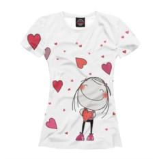 Женская футболка Любовь
