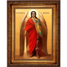 Икона на холсте Михаил Архангел