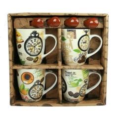 Набор чашек для кофе Утреннее наслаждение
