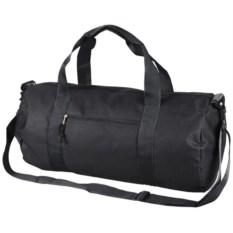 Черная спортивная сумка Айзек