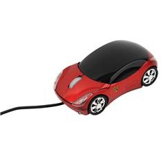 Оптическая мышка в форме автомобиля с подсветкой фар