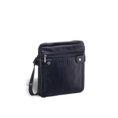 Кожаная сумка через плечо Brialdi Newport (темно-синий)