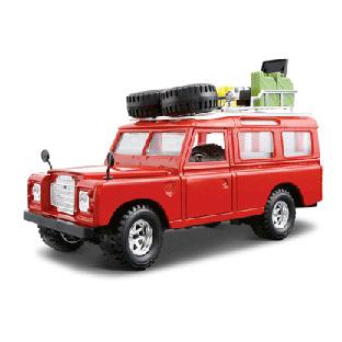 Сборная модель Машина Land Rover Aziza (1971) 1/24
