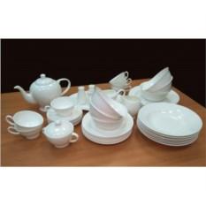 Чайно-столовый сервиз на 6 персон Недеколированный