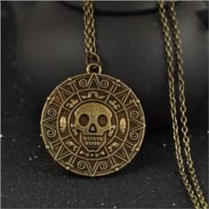 Медальон Пираты Карибского моря