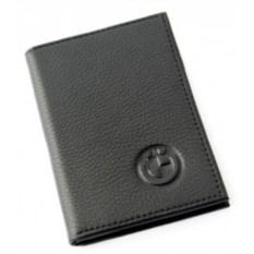 Бумажник для автодокументов с отделением для денег BMW