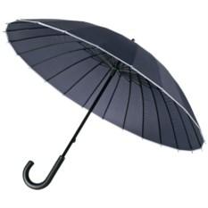 Темно-синий зонт-трость Ella