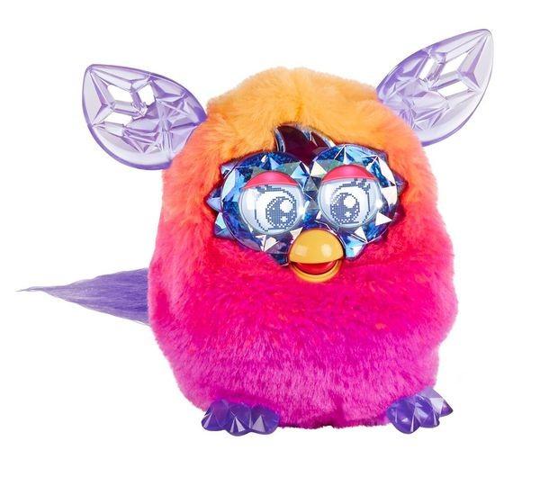 Furby Boom Розово-оранжевый Ферби Кристал (Hasbro)