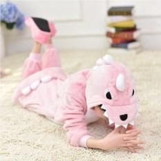 Детский кигуруми Розовый дракон