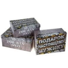Подарочная коробка Подарок Настоящему мужику