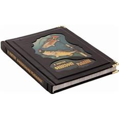 Книга Философия рыбалки (кожа) (в мешочке)