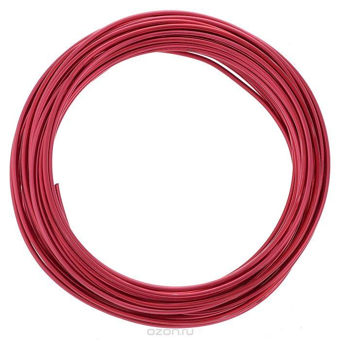 Проволока для рукоделия Астра, цвет: бордовый (23), 2 мм х 10 м