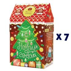 Новогодний домик «Детская радость» (в коробке 7 наборов)