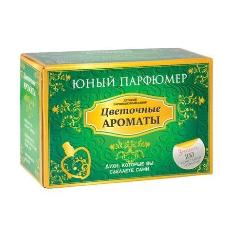 Детский набор парфюмера Цветочные ароматы