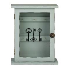 Ключница со стеклянной дверцей
