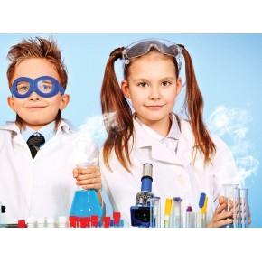 Подарочный сертификат доя детей Химические опыты