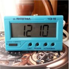 Настольные электронные часы Камертон 5057504090 ЧЭ-15