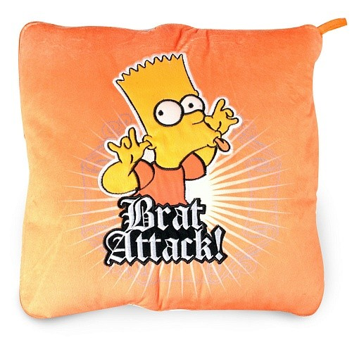 Плед-подушка The Simpsons Brat Attack