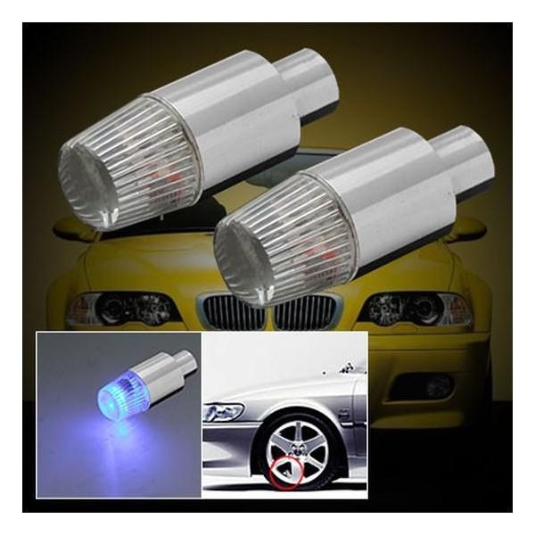 Светящиеся колпачки на колеса LED (2 шт)