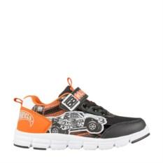 Серо-оранжевые кроссовки Hot Wheels