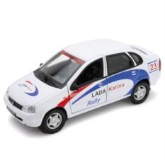 Модель машины Welly LADA Kalina Rally
