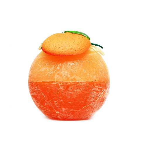 Спелые фрукты — «Апельсин»,  парафиновая свеча
