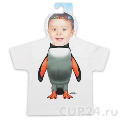 Детская футболка Пингвин